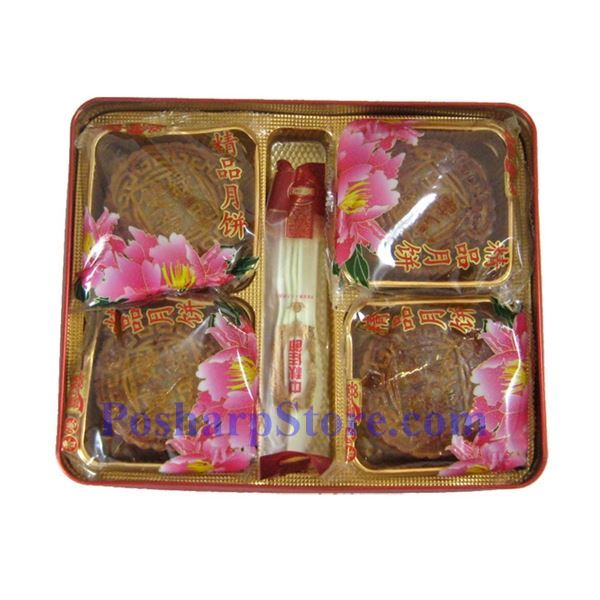 Picture for category Joy & Joy Red Bean Paste Mooncake (2 Yolk)