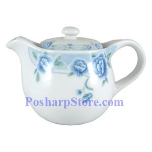 Picture of Cheng's Blue Peony Porcelain Solid Teapot