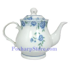 Picture of Cheng's Porcelain Stylish Blue Peony Teapot