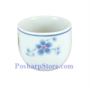 Picture of Cheng's White Jade Porcelain Blue Plum Blossom Teacup