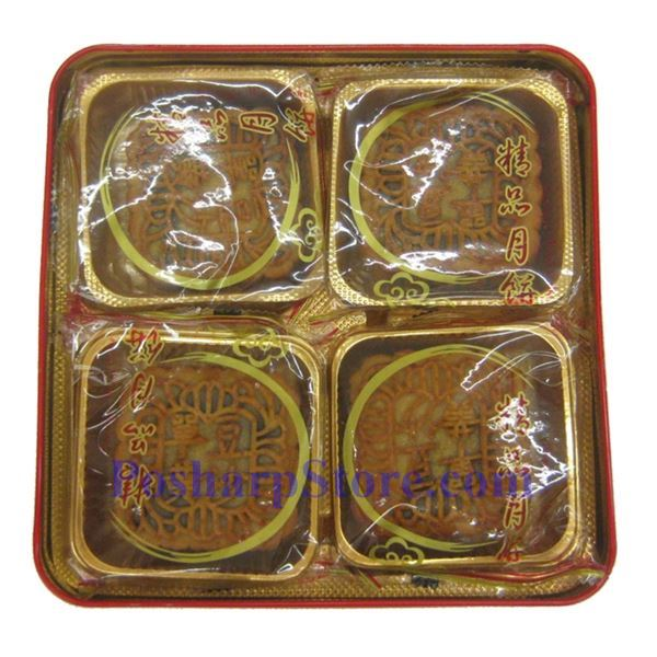 Picture for category Hongkong Garden Food Red Bean Paste Mooncake/w One yolk