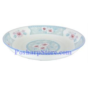Picture of Huangpin Porcelain 7-Inch Spring Blossom Rice Plate