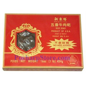 Picture of Hsin Tung Yang Five Spices Beef Jerky - 12 OZ