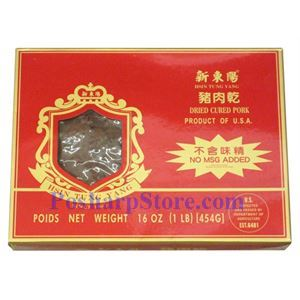 Picture of Hsin Tung Yang Dried Cured Pork Jerky - 12 Oz