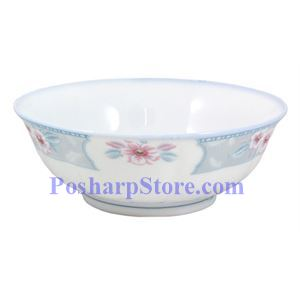 Picture of Spring Blossom 8-Inch Surface-Waved Porcelain  Bowl