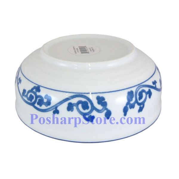 Picture for category Cheng's Porcelain 4.25-Inch Rake Wave Peony Wide Bottom Soup Bowl
