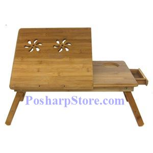 Picture of Portable Bamboo Computer Table with Ajustable Angle