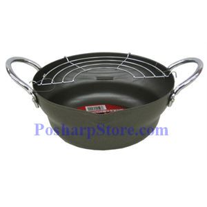 Picture of Pearl Steel Tempura Cooking Pot with Net