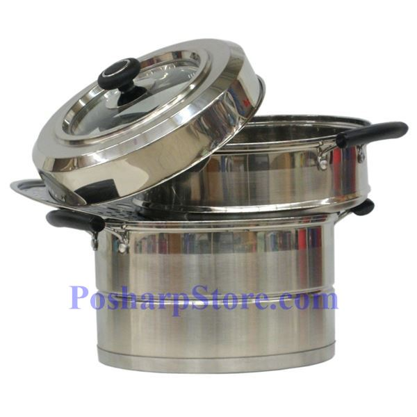 Picture for category Laotesi 11-Inch Two Tier Stainless Steel American Style Stock Pot