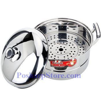Picture for category Zhenneng 13 InchTwo-Plate Multi-functional Stainless Steel Steamer Pot