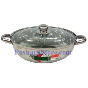 Picture of Meiniada Stainless Steel Twin Pot with Lid