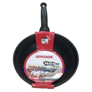 Picture of JoyCook ED-KCW30 12 Inch Durastone Marble Wok Pan