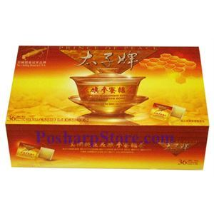 Picture of Prince of Peace® American Wisconsin Ginseng Root Tea with Honey 10.8oz