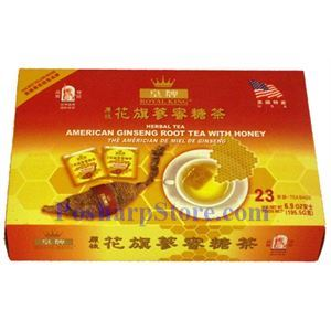 Picture of Royal King American Ginseng Root Herbal Tea with Honey