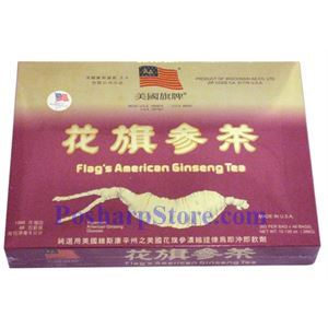 Picture of Flag American Ginseng Tea 48 Teabags