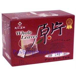 Picture of Tenren Pu-erh Whole leaves Tea With 18 bags