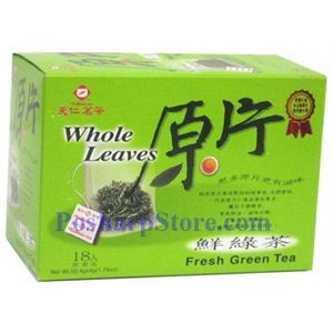 Picture of Tenren Fresh Wholse Leave Green Tea  With 18 Bags