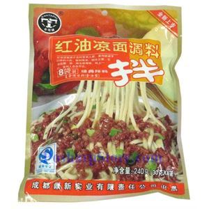 Picture of Chengdu Santapai Classic Spicy Oil Sauce for Cold Noodles