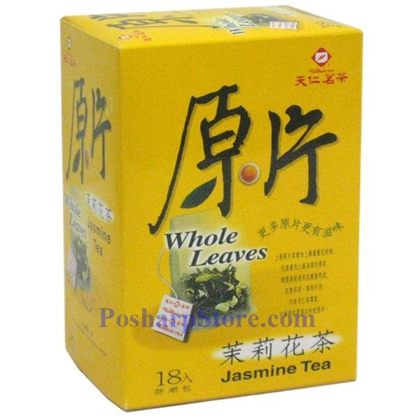 Picture for category Tenren Jasmine Tea Whole leaves Tea With 18 bags