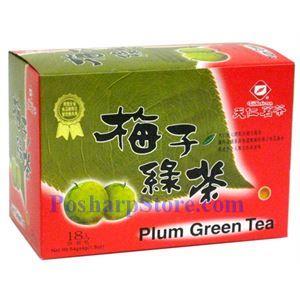 Picture of Tenren  Plum Green Tea With 18 Bags