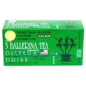 Picture of 3 Ballerina Tea Dieter's Drink Extra Strength 18 Tea Bags
