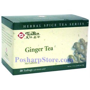 Picture of Tenren  Ginger Tea With 20 bags