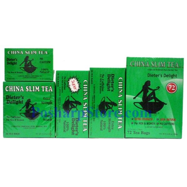 Picture for category Tea Pot Brand China Slim Tea  Dieter Delight Extra Strength 36 Teabags