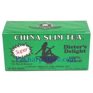 Picture of Tea Pot Brand China Slim Tea Dieter Delight 18 Teabags