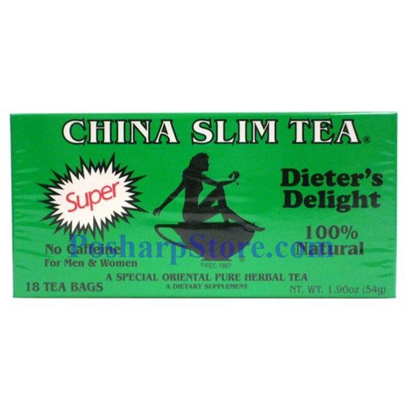 Picture for category Tea Pot Brand China Slim Tea Dieter Delight 18 Teabags