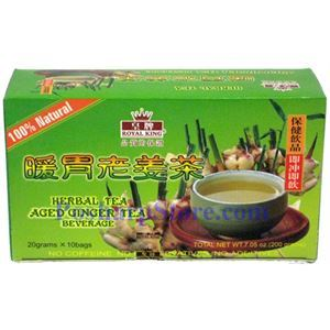 Picture of Royal King Aged Ginger Herbal Tea Beverage