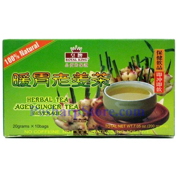 Picture for category Royal King Aged Ginger Herbal Tea Beverage