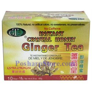 Picture of GT Instant Crystal Honey Ginger Tea Extra Strength