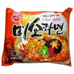 Picture of Ottogi Asian Style Noodle Miso Soup