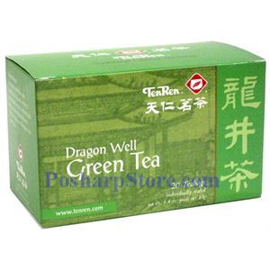 Picture of Tenren  Dragon Well Green Tea With 20 bags