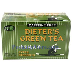 Picture of GT  Dieter's Green Tea Extra Strength 20 Teabags