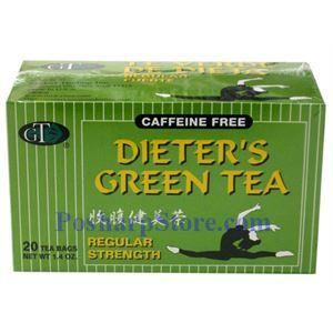 Picture of GT  Dieter's  Green Tea Regular Strength 20 Teabags