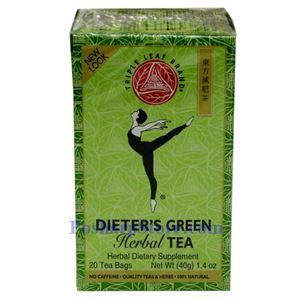 Picture of Triple Leaf brand  Dieter's Green Herbal Tea 20 Teabags