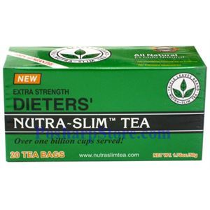 Picture of Triple Leaves Brand Dieter's Nutra Slim Tea Extra Strength 20 Teabags