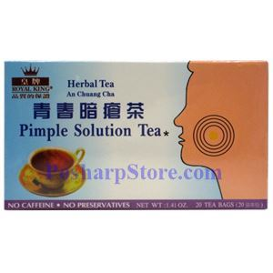 Picture of Royal King Pimple Solution Tea 20 Teabags