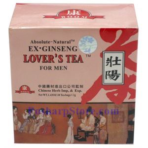 Picture of Absolute-National  Ex Genseng Lover's Tea for Men 20 Teabags