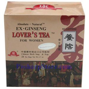 Picture of Absolute-National  Ex Genseng Lover's Tea for Women 24 Teabags