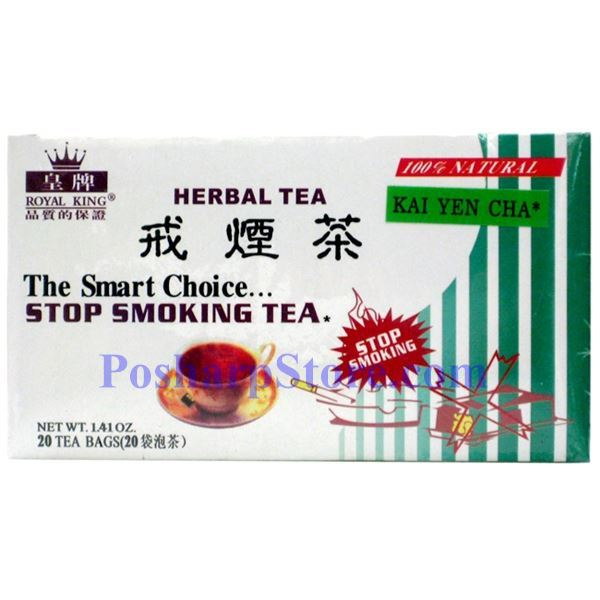 Picture for category Royal King Stop Smoking Herbal Tea 20 Teabags