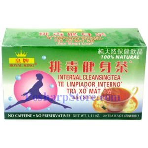 Picture of Royal King Internal Cleansing Herbal Tea 20 Teabags