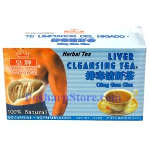 Picture of Royal King Liver Cleansing Herbal Tea 20 Teabags