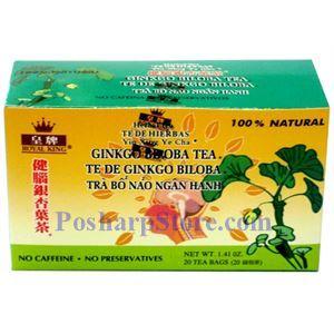 Picture of Royal King Ginkgo Bilosa Herbal Tea 20 Teabags