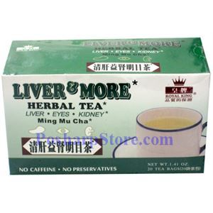 Picture of Royal King Liver & More Herbal Tea 20 Teabags
