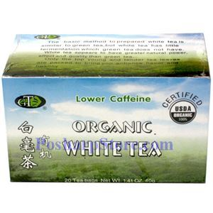 Picture of GTR Organic White Tea  20 Teabags