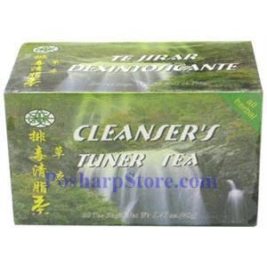 Picture of GTR Cleanser's Tuner Herbal Tea 20 Teabags