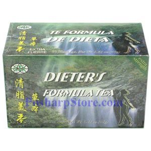 Picture of GTR Dieter's Formula Tea 20 Teabags