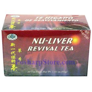 Picture of GTR Nu-Liver Revival Tea 20 Teabags